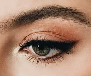 aesthetics, beautiful, and eyeshadow image