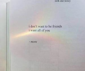 love, book, and rainbow image