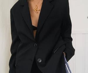 black, celine, and fashion image