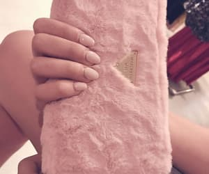 pink nails, rose nails, and beautiful image