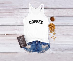coffee, fashion, and quote image