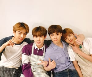 jungwoo, jaemin, and nct image
