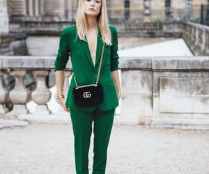 bag, blond, and fashion week image