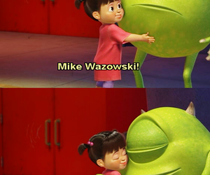 boo, mike wazowski, and monsters inc image