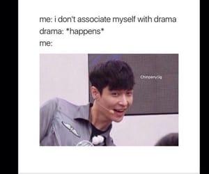 drama, exo, and face image