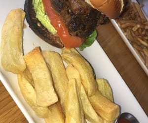 burger, cheese, and food image