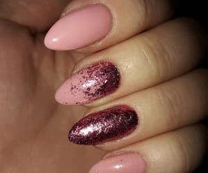 long nails, pink nails, and perfectpink image