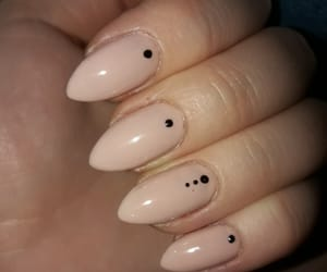 nails, perfect nude, and classy nails image