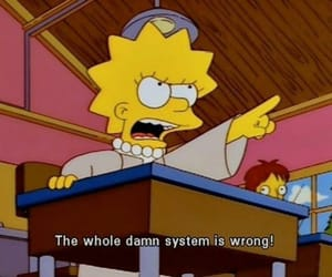 lisa, quotes, and simpsons image
