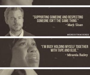 grey's anatomy, quotes, and mark sloan image