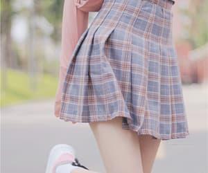 fashion, korean fashion, and pink image