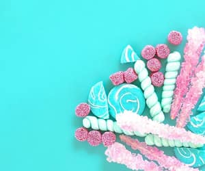 blue and pink, candyminimalism, and candy image
