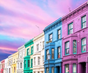 colorful, colors, and london image