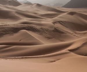 sand, desert, and aesthetic image