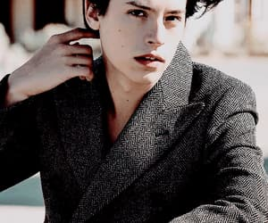 edit, handsome, and cole sprouse image