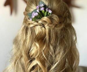 weddinghairstyle and mahekalwedding image