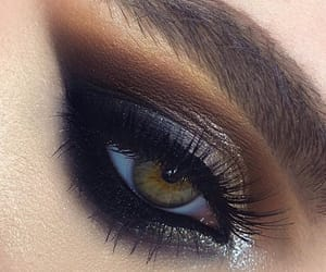 beauty, eyeshadow, and eye makeup image