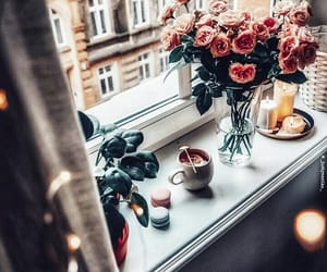 breakfast, city, and moments image