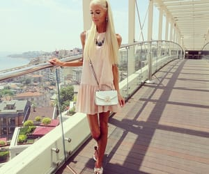 blonde, disney, and outfit image