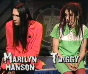 90s, gothic, and Marilyn Manson image
