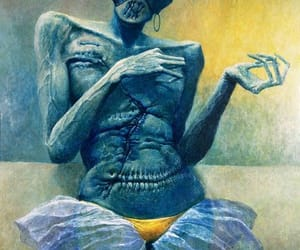 surrealism paintings, polish painter, and photographer and sculptor image