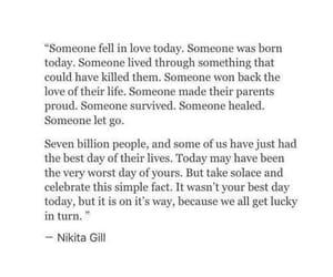 quotes, tumblr, and nikita gill image