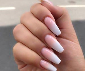 acrylics, hands, and nail polish image