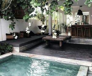 home, pool, and design image