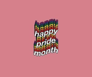 gay, pride month, and lgbtqia+ image