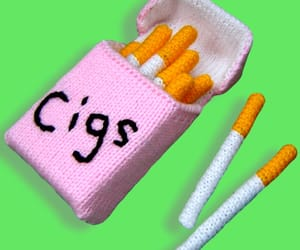 cigs, knit, and funny image