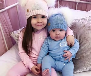 baby, brother, and cute image