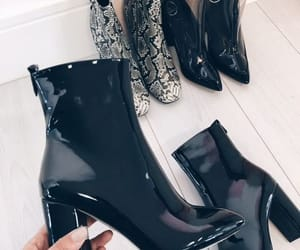 boots, heels, and leather image