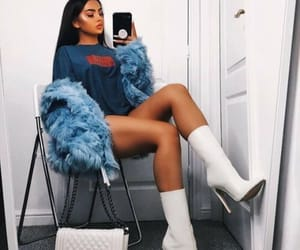 fashion, style, and blue image