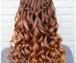 hair, girl, and longhair image