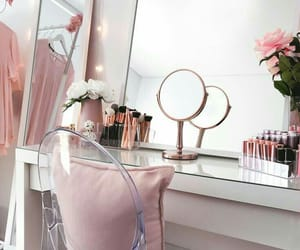 home, interior, and makeup image