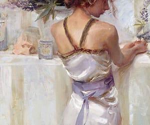 art, purple, and violet image