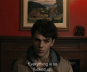 boy, quotes, and subtitles image