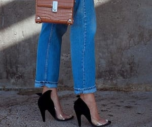 denim, fashion, and mini bag image