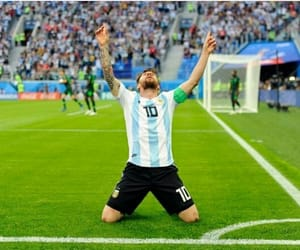 argentina, football, and goal image