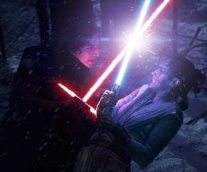 star wars, adam driver, and the force awakens image