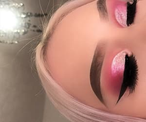colors, makeup, and rose image