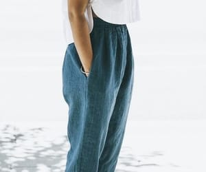 blue, pants, and light image