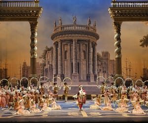 ballet, beautiful, and moscow image