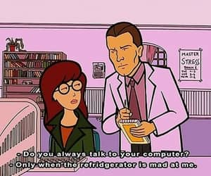 Daria, funny, and computer image