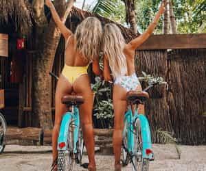 fashion, girls, and travel image