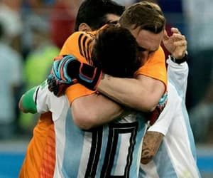 argentina, Armani, and messi image