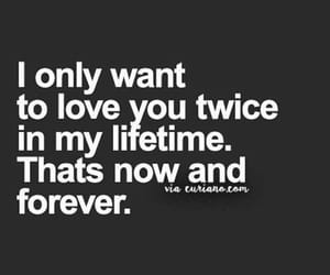 quotes, black and white, and love quote image