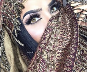 fashion style, outfit clothes, and make up makeup image