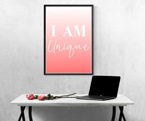 interior designs, quotes and text, and pink image