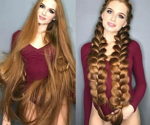 ginger, longhair, and hair image